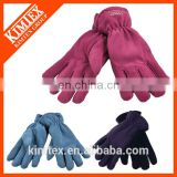 2017 Promotional Custom Winter Polar Fleece Gloves
