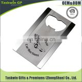 High qaulity but cheap price bottle opener promotional beer bottle opener with black laser engraved logo