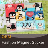 penguin decorative magnetic sticker for kids for fridge decor