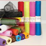 Solid Colors Decorative Sparkle Mesh Ribbon Roll For Premium Wedding Baby Shower