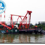 Sand Mining Boat with Cutter Head