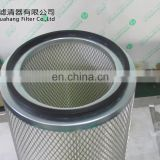 china manufacturer supply Washable filter media Polyester Donaldson cylinder air filter cartridge