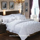 luxury pure cotton white 4 pcs bedding set 5 star hotel bedding linen set