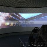 3D projector, advertising/curved projection screens/3D projector, advertising