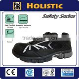 Dark Color Athletic Sport Safety Shoes with Composite toe