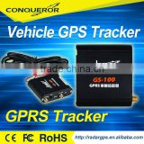 Conqueror GSM GPS Tracker with sim card car GPS Tracker for remote cut off the oil or the power
