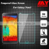 Original Clear Toughened glass protector ,Wholesale china Tempered Glass Screen Protector for samsung note3