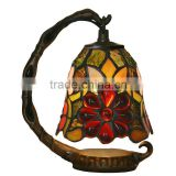 tiffany table lamp stained glass sunflower night light LED decoration light