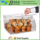 wholesale acrylic display case/ acrylic food storage box