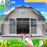 Economic Prefabricated Building Dome Houses Made In China/new style cheap arched cabin tiny houses prefabricated homes