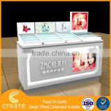 Guangzhou factory OEM cosmetic store display stand cosmetics display cabinets
