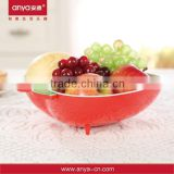 D522 Durable use apple shaped food tray candy box fruit tray of high quality