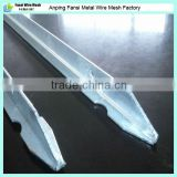 fix plants used water proof made in china rail steel t & l post