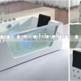 2013 new bathtub AM196 for two persons with glass panel