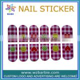 factory 2013 new designs of melody magic nail sticker