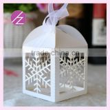Custom wedding invitation box /Birthday /wedding candy favour box /gift box TH6 with special snowflake
