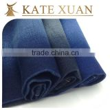 Cheap breathable stretch cotton polyester wool blended denim fabric prices