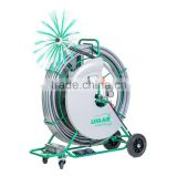 Lifa Hydmaster 40, air duct cleaning brushing machine, rotating shaft cleaning equipment