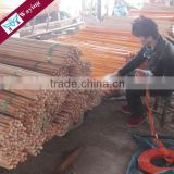 PVC coated wooden handles magic mop rod
