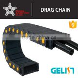 Reinforced industrial plastic wire carrier cnc cable drag chain manufacturer