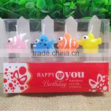 Animal Shaped Party Birthday Candle