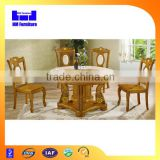 High end round rotatable marble dining table                                                                         Quality Choice