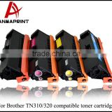 Colored Toner TN310 TN320 compatible toner cartridges for Brother HL4150DN/HL4570DN/MFC9460CDN/9560CDW/9970CDW
