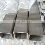 SUS 316L stainless steel square tube weight and price per meter