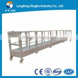 suspended electric lift platform / building gondola / facade cleaning cradle