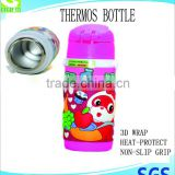 stainless steel water bottle thermos children kid mug travel gift sports bottle                                                                         Quality Choice