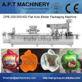 Automatic Hot Chocolate Blister Packing Machine for Indian Market