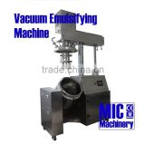 MIC-100L auto lifting steady vacuum mixer homogenizer 10l vacuum homogenizer mixer SUS 316L with CE certification