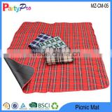2015 Hot Colorful Dampproof Baby Crawling Pad Camping Too Outdoor Folding Padded Beach Picnic Mat