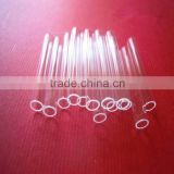 1*0.6mm high temperature resistant acid and alkali resistant capillary quartz tube for laboratory use