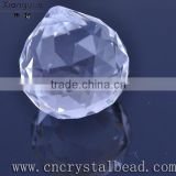 2014 Wholesale large crystal used for decoration wedding occasion and parties glass ball