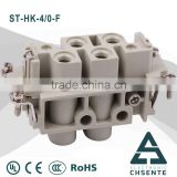 HK series electornic pin female connector types and waterproof enclosure electrical connector