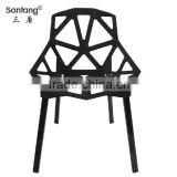 full powder coating national cheaper european style plastic leisure chair / garden chairs / party chairs 1335