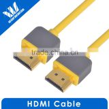 Slim High speed male to male bulk hdmi cable 2.0 support 4K*2K 2160P 3D with Ethernet
