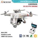 CHEERSON headless mode cx-20 auto-pathfinder drone with gps camera                                                                         Quality Choice