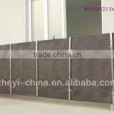 Balcony protection cover mat -synthetic rattan material