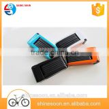 Motorcycle anti theft bicycle frame steel material folding bike lock
