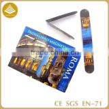2015 OEM small order book cover Folding Magnetic anime bookmarks printable