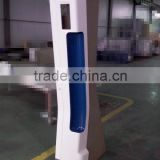 Interior decoration door pillar shield plate/cover of High-speed train&metro light rail