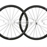 700C Carbon Bicycle Wheelset 38mm Depth 25mm Width Chinese Road Bike Wheels