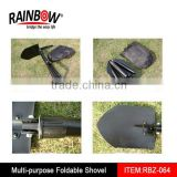 Aluminium alloy Collapsible folding snow shovel high quality
