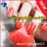 Wholesale custom designed empty 15ml glass bottles for UV Nail Gel Polish with lid                                                                         Quality Choice