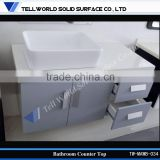 Stain resistance composite resin artificial marble for bathroom countertop