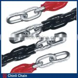 Standard Link iron chains with Dip Plastic Surface treatment,High Strength Dip plastic chain