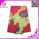 2016 China High Quality Super Dutch Hollandaise Wax Fabric for 6yards with fashion design