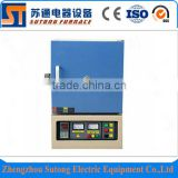 Hot sale! 1200C small Lab electric box muffle furnace with high quality material ceramic